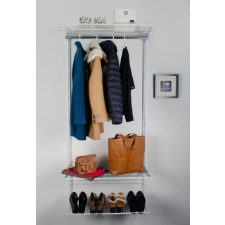 Elementsystem Regal Easy Set Garderobe Classic Rs32 Weiss